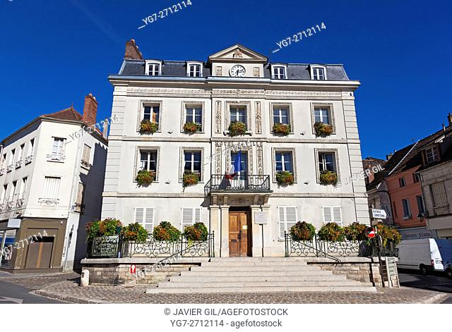 City hall of Provins, Seine-et-Marne, Ile-de-france, France