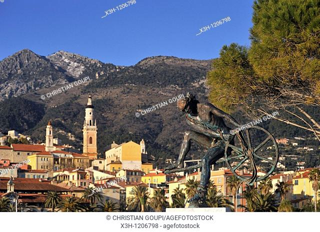Menton, French Riviera, Alpes-MaritimesMaritime Alps, France