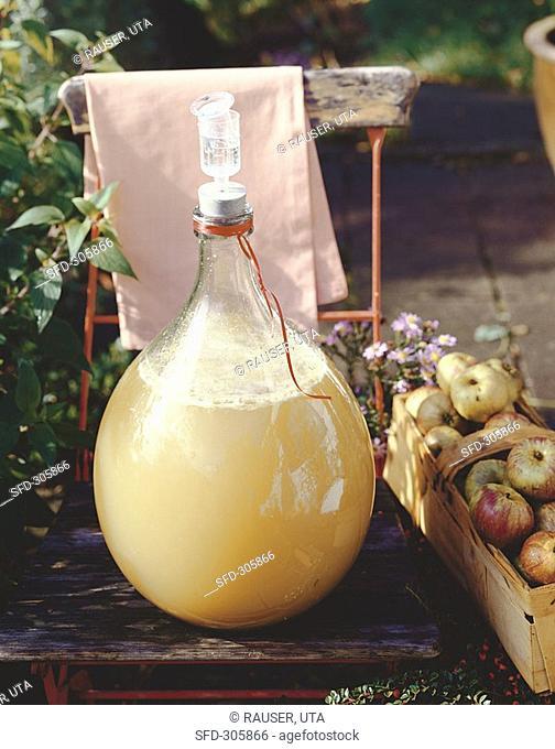 Cider, home-made