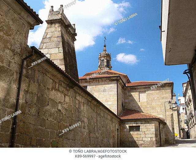Archivo Histórico Provincial (former archbishop's palace), Ourense. Galicia, Spain