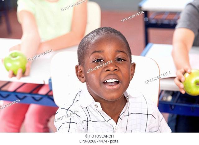 Pretty black boy