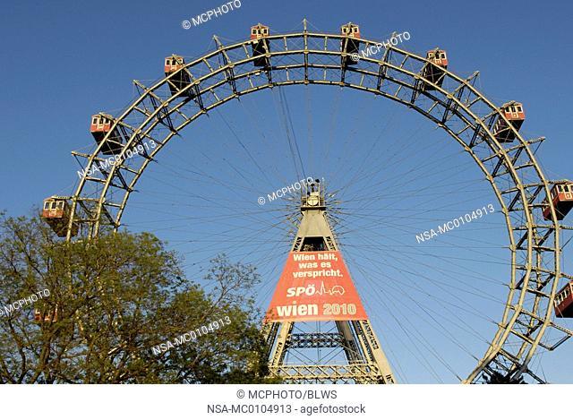 Prater amusement park in Vienna, Giant Ferry Wheel