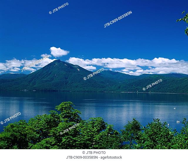 Lake Shikotsu, Lakes and marshes, Mt Eniwa, Shikotsu Toya national park, Chitose, Hokkaido, Japan