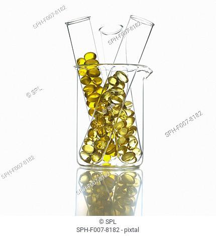 Cod liver oil pills