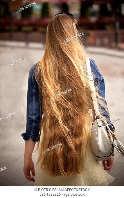 Beautiful Lithuanian blond