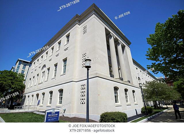 superior court of the district of columbia building a Washington judiciary square DC USA