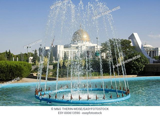 Palace of Turkmenbasy , Aschgabat, Turkmenistan