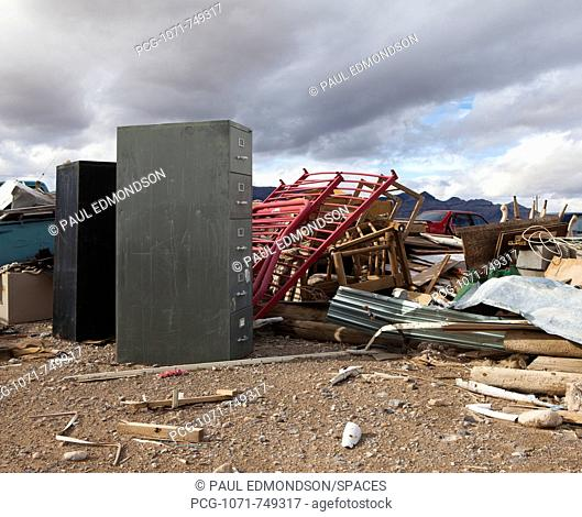 Items in a Garbage Dump