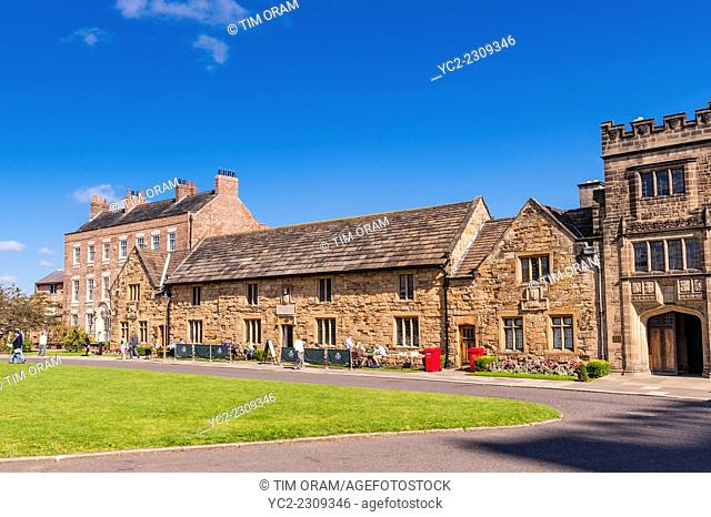 The 15th century almshouses building in Durham , England , Britain , Uk