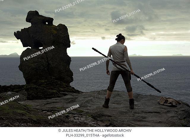 "Rey (Daisy Ridley)""""Star Wars: The Last Jedi"""" (2017) Lucasfilm Ltd"