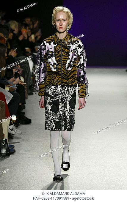 Ashley Williams Unway Show During London Fashion Week Aw19 Autumn