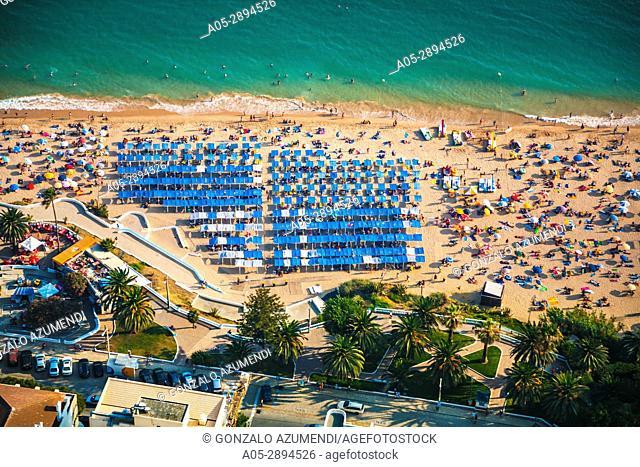 Beach at Armaçao de Pera. Silves municipality. Faro district. Algarve. Portugal