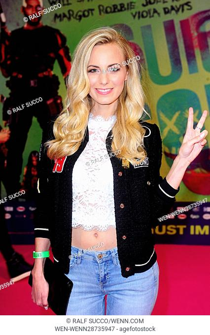 Suicide Squad LiveEvent at Cinestar Sonycenter Berlin. Featuring: Syra Feiser Where: Berlin, Germany When: 03 Aug 2016 Credit: Ralf Succo/WENN.com