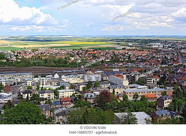 Laon, Aisne department, Picardy, France