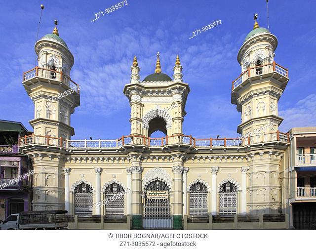 Myanmar, Mon State, Mawlamyine, Surtee Sunni Jamae Masjid, mosque,