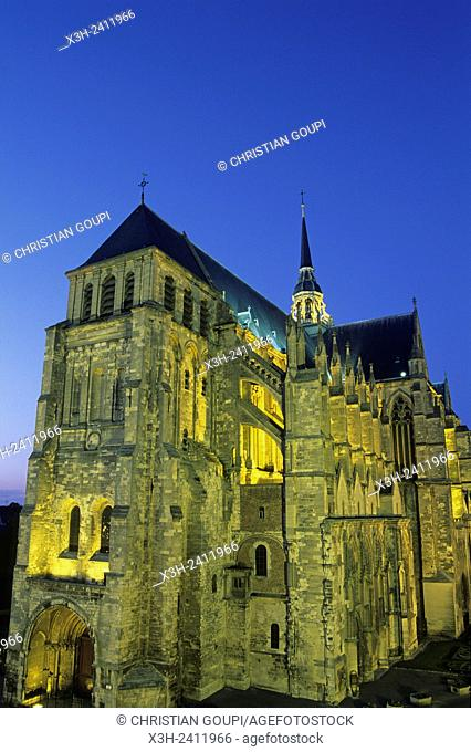 basilica, Saint-Quentin, Aisne department, Picardy region, northern France, Europe