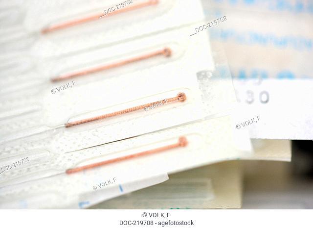 Traditional Chinese Medicine  TCM  - Moxaneedles - Acupuncture - moxibustion