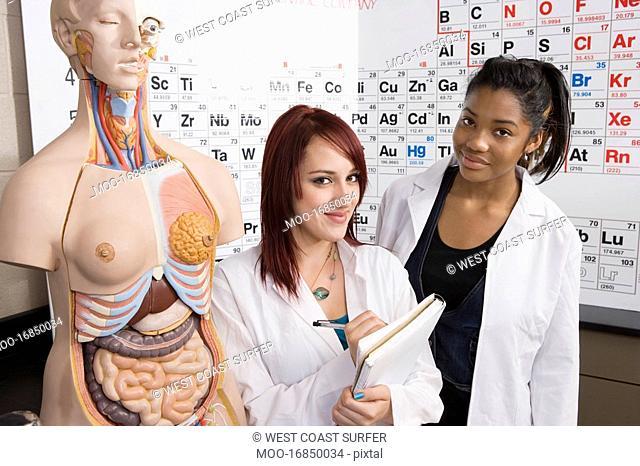 Anatomy Students