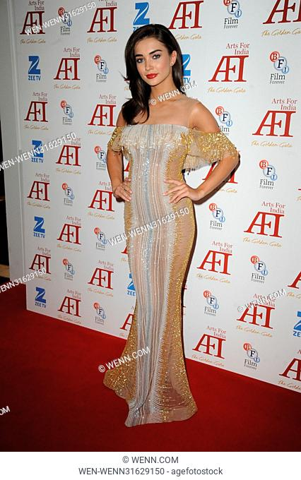 Arts for India Golden Gala - Arrivals Featuring: Amy Jackson Where: London, United Kingdom When: 31 May 2017 Credit: WENN.com
