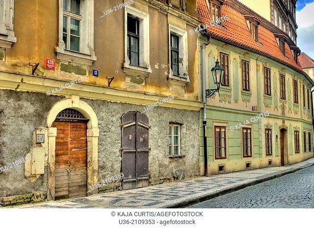 Street Prague Czech Republic