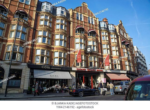 Sloane Square Hotel, Chelsea, London, UK