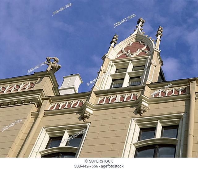 Art Deco Facades, Riga, Latvia