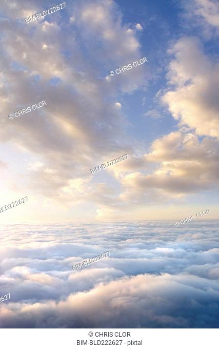 Clouds above clouds