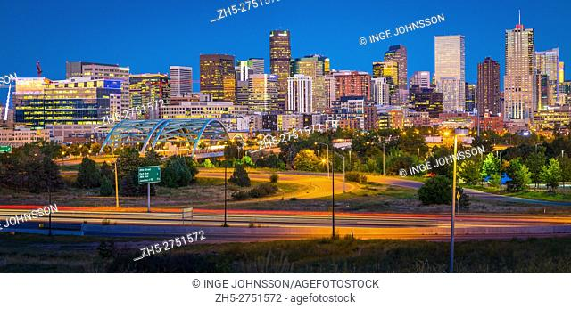 Denver is the largest city and capital of the State of Colorado. Denver is nicknamed the Mile-High City because its official elevation is exactly one mile (5