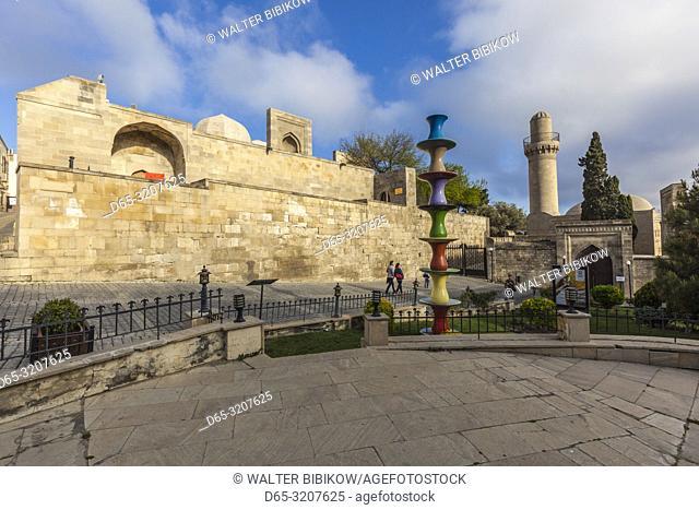 Azerbaijan, Baku, Old City, Palace of the Shirvanshahs
