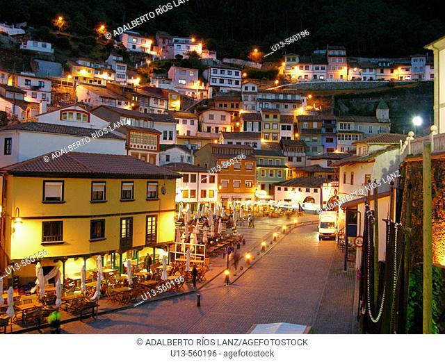 Cudillero Fishermen Village Principality Asturias Spain