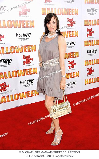 Tanya Newbould at arrivals for Premiere of Rob Zombie's HALLOWEEN, Grauman's Chinese Theatre, Los Angeles, CA, August 23, 2007
