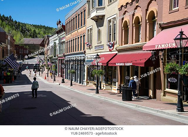Shopping place, Central City, Colorado, USA, North America, United States