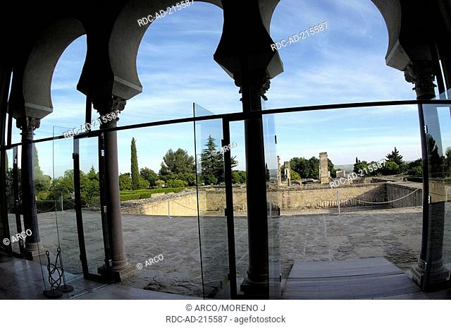 Ruins of Medina Azahara, built by caliph Abd al-Rahman III. Cordoba, Andalusia, Spain, Madinat al-Zahra