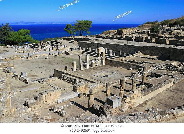 Kameiros, Rhodes, Dodecanese, Greece