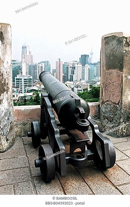 The oldest big fort in Macao, Macao special administration region of People's Republic of China
