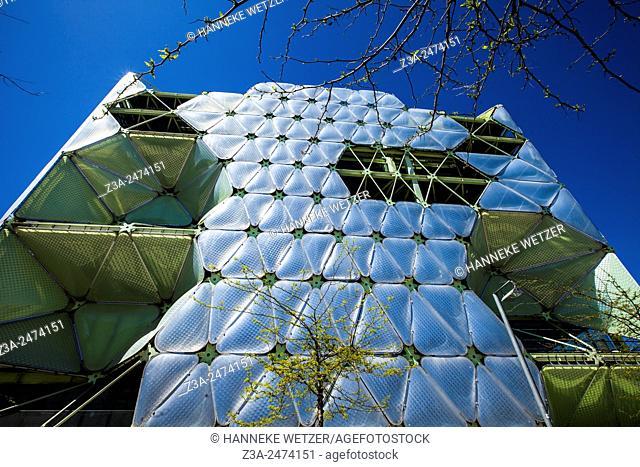 Media TIC, Architecture at Carrer de la Ciutat de Granada, Barcelona, Spain