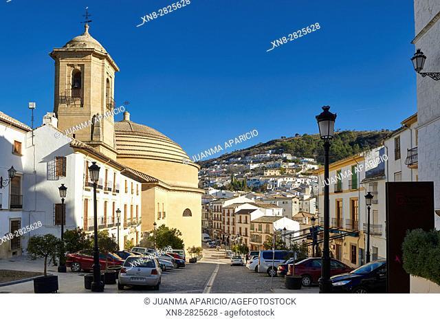 Iglesia de la Encarnación, Montefrio, Granada, Andalusia, Spain, Europe