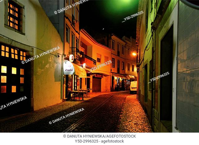 Travessa do Mar, historic part of Lagos, Algarve, Portugal, Europe