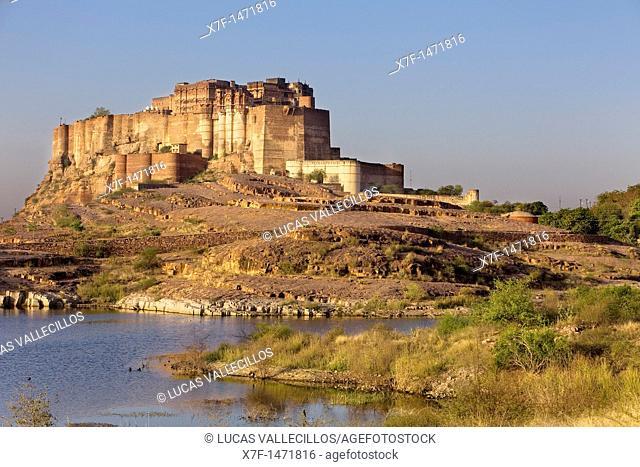 Mehrangarh Fort,Jodhpur, Rajasthan, India