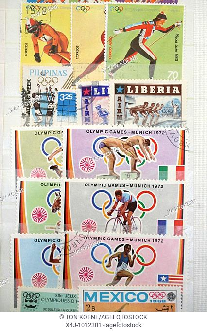 Stamps and stamp collectors in Holland