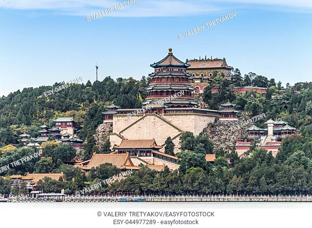 Traditional Chinese Architecture: Summer Palace in Beijing