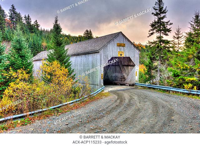 Forty Five Covered Bridge, Fundy National Park, New Brunswick, Canada