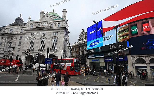 UK, London City,Piccadilly Circus