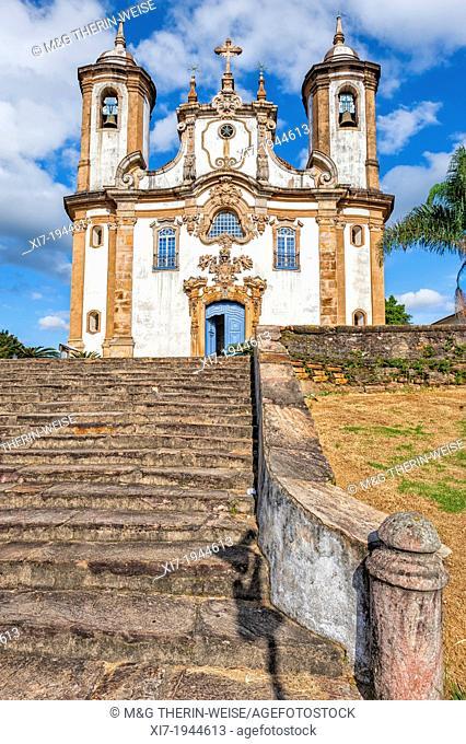 Nossa Senhora Do Carmo Church, Ouro Preto, Minas Gerais, Brazil