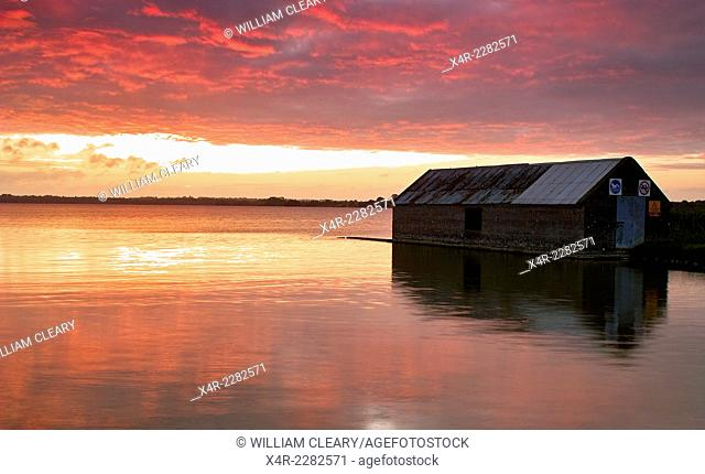 Morning colours at Lilliput, Lough Ennell, County Westmeath, Ireland