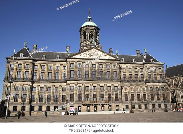 Koninklijk Paleis Dam Square Amsterdam Holland