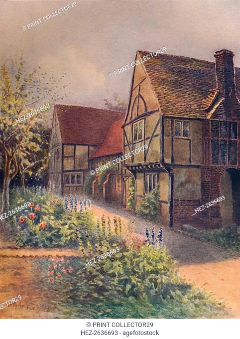 'Manor House, Walton-On-Thames', 1911, (1914). Artist: James S Ogilvy