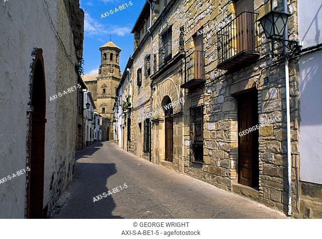 Calle Conde Romanones, Baeza, Andalucia, Spain
