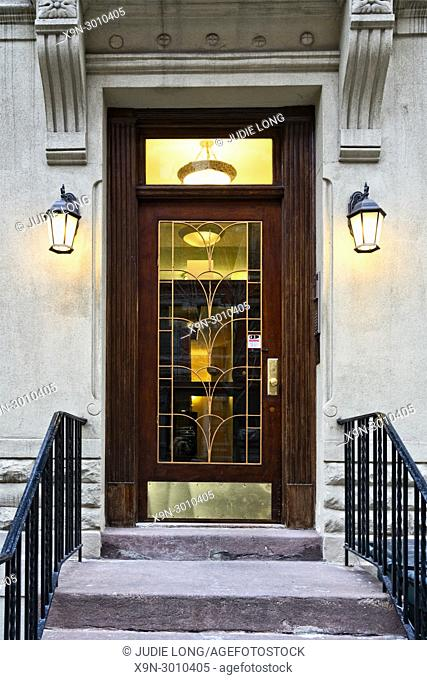 Entry to an Upper East Side, Manhattan, NYC, Tenement Apartment Building