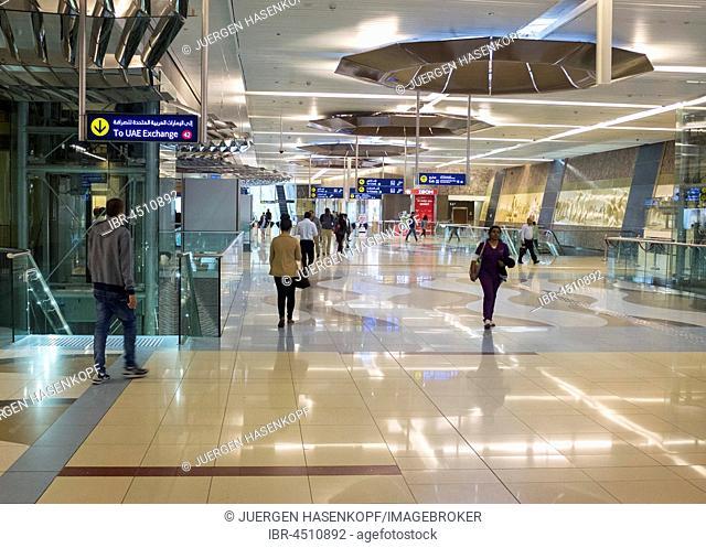 Metro Station, Dubai, United Arab Emirates